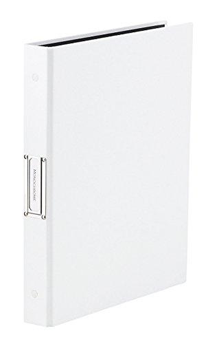 ラドンナ モノクローム クリアーファイル差し替え式 A4S ホワイト PAM-139WH