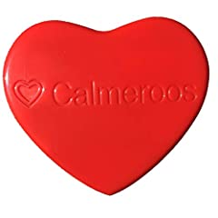"""Calmeroos replacement heart for Calmeroos Puppy and Calmeroos Kitty Includes 2 - AAA batteries that are easy to replace when needed Very long-lasting batteries! Will last 3 weeks on one set of AAA batteries if left """"on"""" continuously before you need t..."""