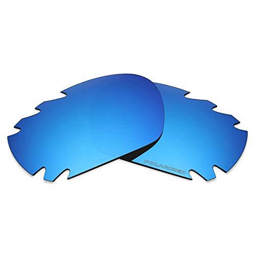 Mryok+ Polarisierte Ersatzgläser für Oakley Jawbone Vented - Ice Blue