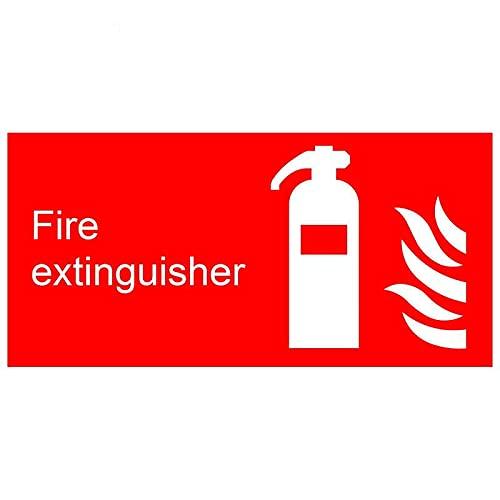 A/X 13 cm 6,3 cm para señales de extintor de Incendios Pegatinas de Coche DIY Moda oclusión rasguño Motocicleta calcomanía Ventana de Parachoques