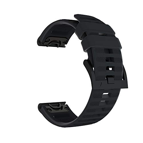 Find Cheap Sillicone Watch Band for Garmin Fenix 6,6 Pro,Fenix 5,5 Plus,Forerunner 935,Forerunner 94...