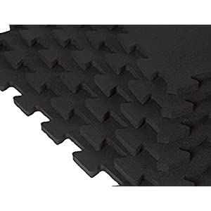 Supermats SuperLock Heavy Duty Weightlifting Mat Six Piece Pack