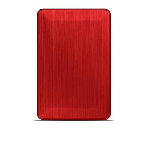 N / B 1 TB Accionamiento Duro Externo Ultra Delgado y liviano, Interfaz USB 3.0, SUEÑO AUTOMÁTICO, Seguridad del Disco Duro de protección múltiple, Estable y a Prueba de Golpes