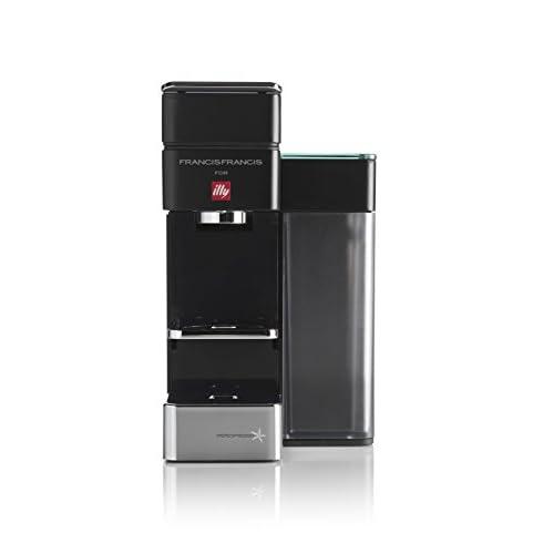 31fa7ED8FPL. SS500  - Francis Francis E&C BT Bluetooth Illy Y5 Espresso and Coffee Machine, Black with illy Iperespresso Medium Roasted 21…