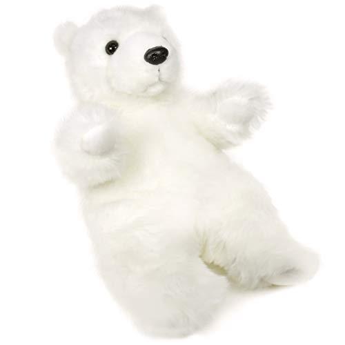 VIAHART Persephone The Polar Bear   12 Inch Stuffed Animal Plush   by Tiger Tale Toys -  850000897359
