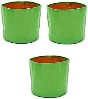 COIR GARDEN HDPE Grow Bags, 18 x 18 inches, 3 Pieces