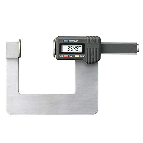 KCCCC Calibre Vernier Medidor de Profundidad Digital Herramienta de medición Digital de Pie de Rey para medir (Color : Stainless Steel, Size : 315-303 * 0-35)