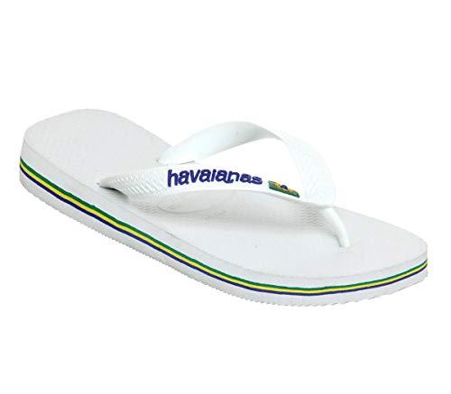 Havaianas , Jungen Zehentrenner Weiß Weiß Blau
