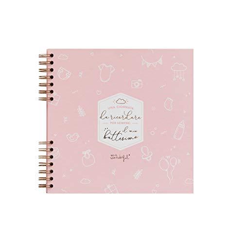 Fotoalbum roze - Mijn doop