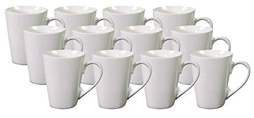 PorcelainSite Geschenkideen GmbH 12 Kaffeebecher Kaffeetassen Petra II Keramik