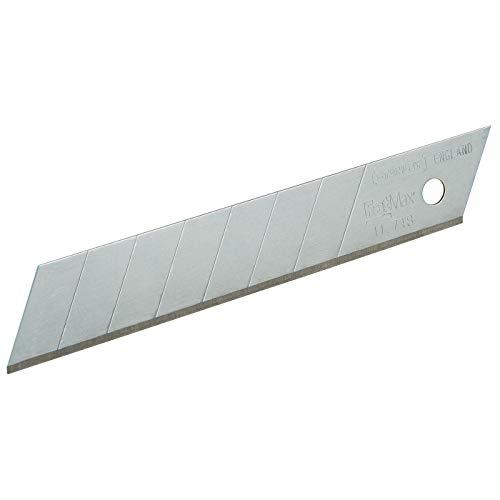 Stanley FatMax Abbrechklingen (18 mm Klingenlänge, induktionsgehärtete Schneide, 2x langlebiger, 5 Stück) 0-11-718
