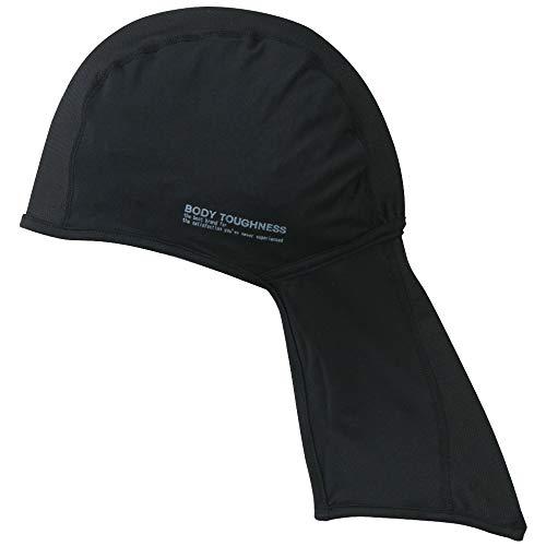 おたふく手袋 ボディータフネス 冷感・消臭 パワーストレッチ カバー付ヘッドキャップ JW-613 ブラック