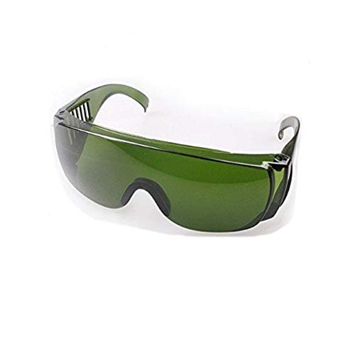 Tasquite Lunettes de Moto Lunettes de Protection Laser Vertes for pointeur Laser à lumière Bleue de 473nm