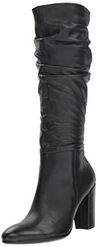 ECCO Damen Shape 75 Slouch Tall Boot Hohe Stiefel, Schwarz (Black 1001), 35 EU