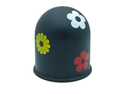 Schutzkappe Anhängerkupplung Westfalia Bosal Rameder Jäger Flower Blume schwarz