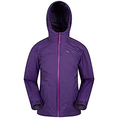 Mountain Warehouse Torrent 2 Kids Waterproof Lightweight Jacket