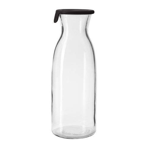 VardagenKaraffe mit Deckel von IKEA, transparentes Glas, 1 Liter