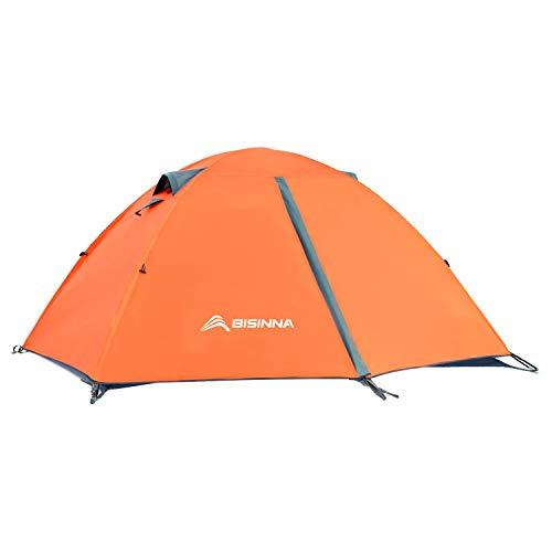 BISINNA 2 Man Camping Tent Lightweight Backpacking Tent Easy Set Up...