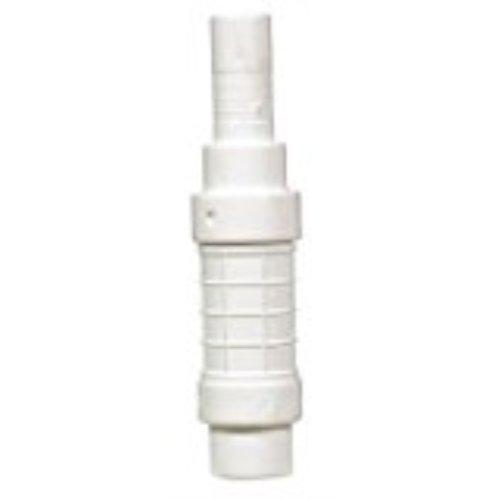 White QF-0750 PVC Quik-Fix Telescoping Repair Coupling King Brothers Inc 3//4-Inch