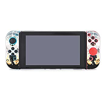 Hollow Knight Case Compatible with Nintendo Switch Case Screen Protector TPU Protective Heavy Duty Cover Case for Nintendo Switch with Shock Absorption and Anti-Scratch