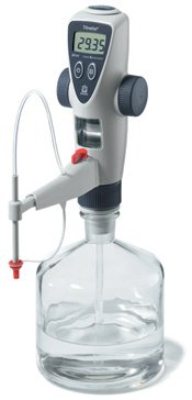 BRANDTECH SCIENTIFIC 707533 Titrette Dispensing Cylinder with Valve Head for Bottletop Burette, 10 mL Capacity