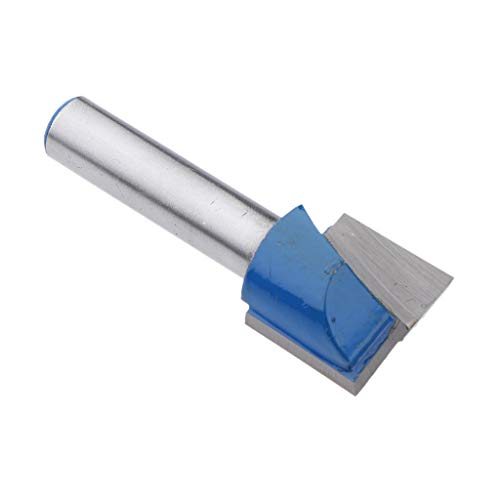 DIY Nutfräser zweischneidig, aus HM für Lange Lebensdauer, 8mm Schaft, Schneiddurchmesser Auswählbar - 8x17mm
