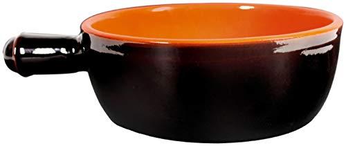 Silva : Terre Ombrie, 1 Casserole en Terre Cuite avec poignée (24 cm de diamètre) - Version Italienne