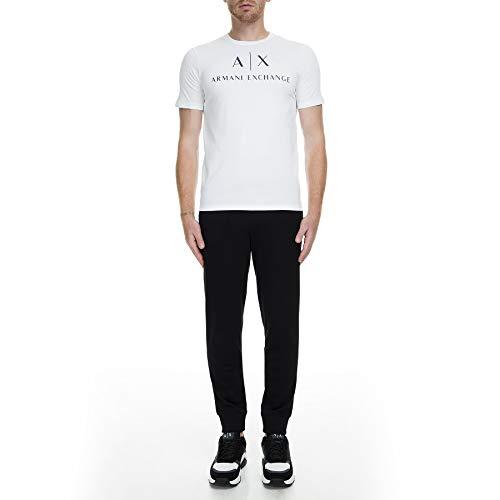 Armani Exchange 8nzp91 Pantalones de Deporte, Negro (Black 1200), W48 (Talla del Fabricante: Small) para Hombre