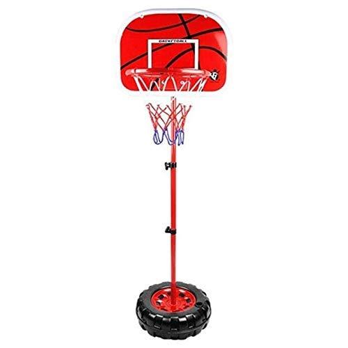 XIUYU Tragbare Basketballkorb Rückenbrett Systemstand, Jugend-Basketball-Ständer, höhenverstellbar 80-200cm, for Innen/Außen