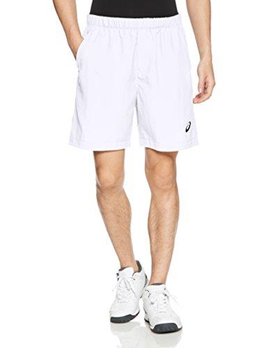 ASICS Herren Tennis Shorts, Brilliant White, S