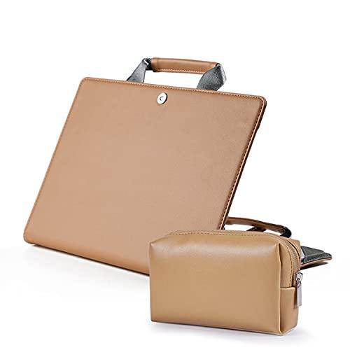 Funda protectora portátil para MacBook Air/Pro (13 pulgadas, marrón claro)