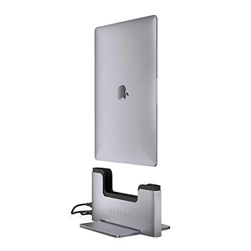Brydge - Docking station verticale per MacBook Pro da 13 pollici con Thunderbolt 3 con Touch Bar, compatibile con MacBook Pro da 13 pollici (2016-2018), 2 porte USB-C   Docking Hub Station