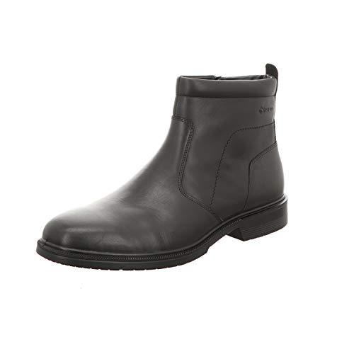 ECCO Herren Lisbon Chelsea Boots, Schwarz (Black 1001), 46 EU