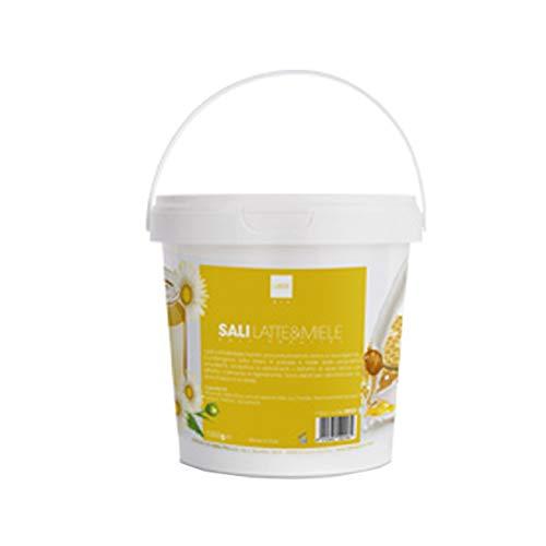 Sels de bassin de piscine, différentes fragrances et fonctions 1 kg professionnel pour esthéticienne (lait et miel H042)