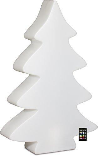 LUMENIO LED Baum beleuchteter Weihnachtsbaum multicolor 15 verschiedene Farben (Maxi)