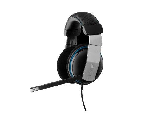 Corsair Vengeance 1500 - Auriculares de diadema abiertos USB (con micrófono), negro