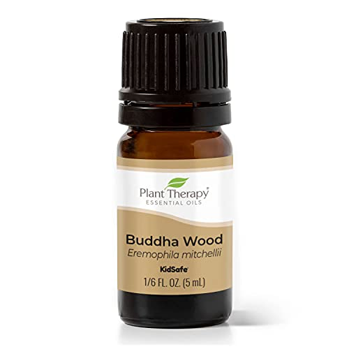 Plant Therapy Buddha Wood Essential Oil 5 mL (1/6 oz) 100% Pure, Undiluted, Therapeutic Grade