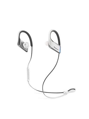 Panasonic RP-BTS50E-W Bluetooth In-Ear Kopfhörer (Bluetooth, wasserfest, Schnellladefunktion, flexible Ohrbügel) weiß