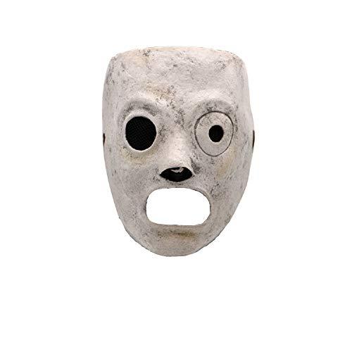Corey Taylor Maske DJ Halloween Cosplay Kostüm Requisiten Latex Gesichts Maske mit Satin Krawatten