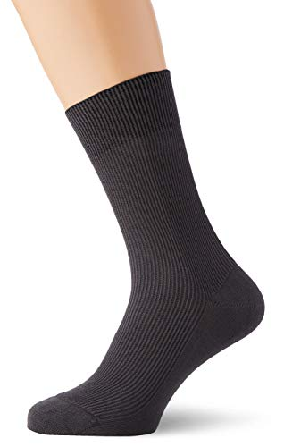 Living Crafts Bio-Baumwoll-Socken 37/38, dark grey