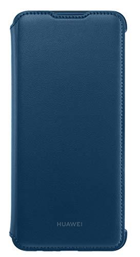 Huawei PU Protective Case Flip Cover P Smart 2019 Deep Blue