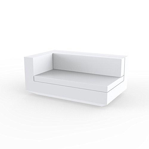 Vondom Sofa MODULO Derecho XL - Blanco