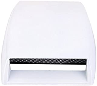 Vetra Car Hood Air Flow Decorative Duct Exterior Grille White For Maruti Ciaz