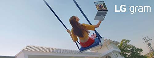LG gram 17 Zoll Ultralight Notebook - 1,35 kg leichter Intel Core i5 Laptop (8GB DDR4 RAM, 512 GB SSD, 17 h Akkulaufzeit, IPS Display, Thunderbolt 3, Windows 10 Home) - Dunkelgrau