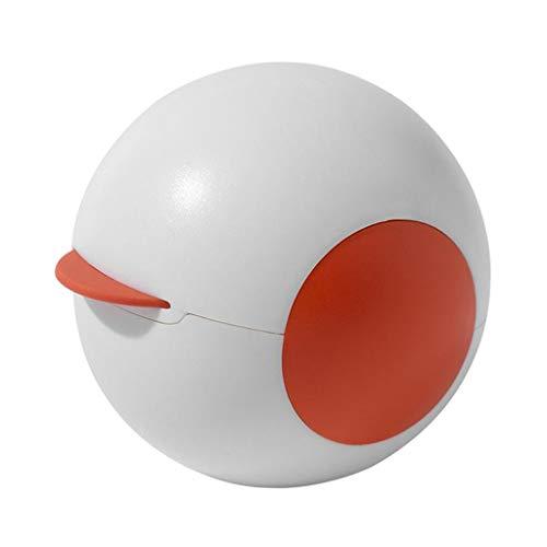 petsola Mini removedor de pelusas bolas de pelo rodillos de pelusa reutilizables rodillos adhesivos ropa de hogar removedor de bolas - Blanco naranja