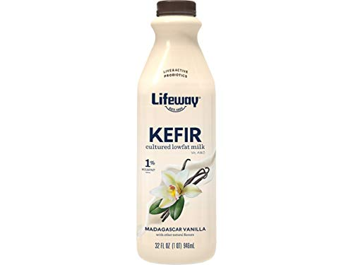 Lifeway Probiotic Low Fat Vanilla Kefir, 32 Ounce -- 6 per case.