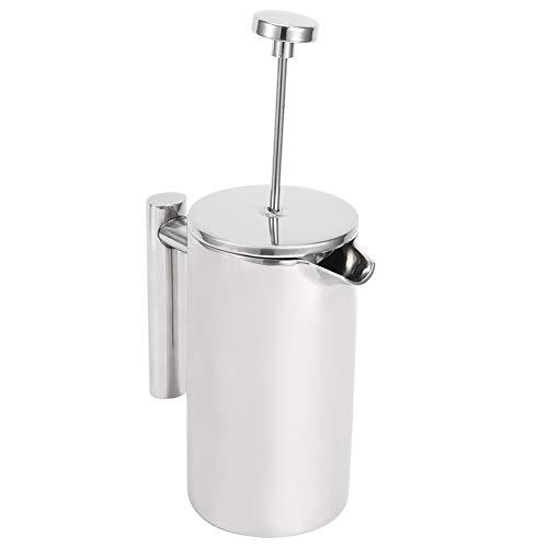 Silberne Kaffeekanne, U-förmige Ausguss-Küchenutensilien, Home Restaurant Hotel Kitchen(350ML)