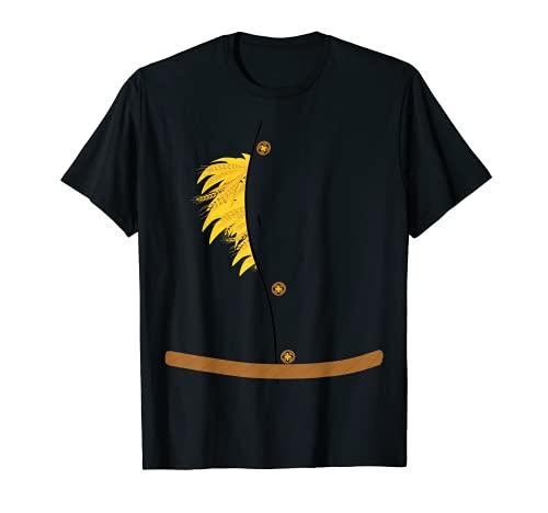 Disfraz de espantapájaros de Halloween Mago de OZ espantapájaros Camiseta