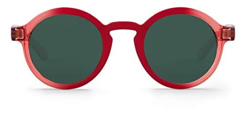 Mr. Boho Dalston Gafas de Sol, Rojo (Cherry), Única Unisex, Talla única