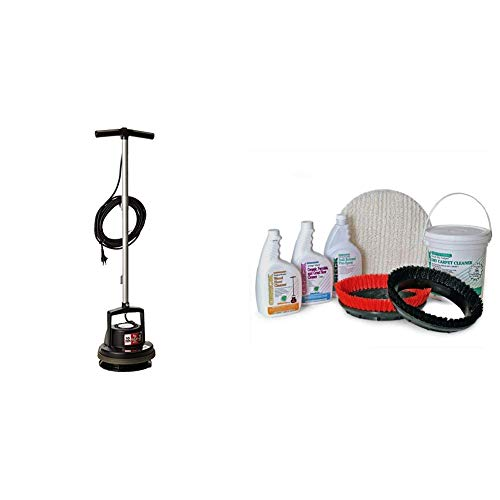 Oreck Orbiter All-In-One Floor Cleaner, Scrubber and Polisher, Multi Purpose Floor Machine, 30ft Power Cord, ORB700MB, Black